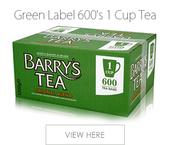 Barrys Green Label 600's 1 Cup Tea Bags [Pack of 600]