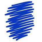 Blue Whiteboard Markers