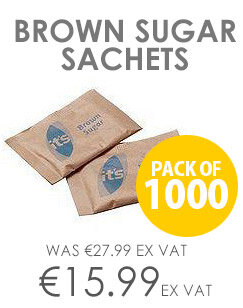 Brown Sugar Sachets Pack of 1000 A00890