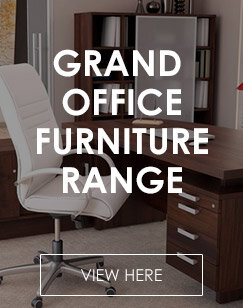 Grand Office Furniture Range - Walnut