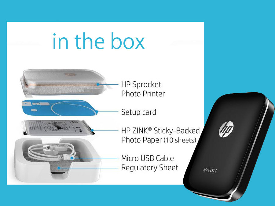 Hp Sprocket In The Box