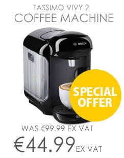 Tassimo Vivy 2 Coffee Machine Black