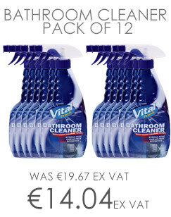 Vital Fresh Bathroom Cleaner 750ml Pack of 12 WX00200