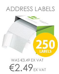 Q-Connect Self Adhesive Address Labels 89x36mm (250 Labels)