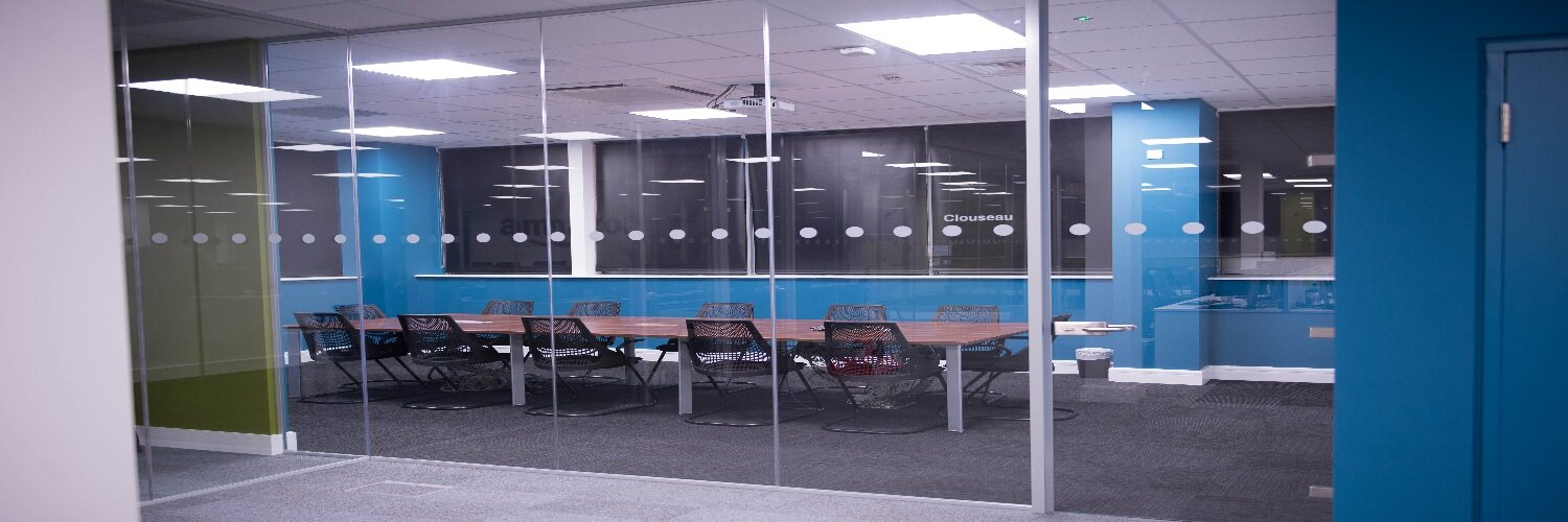 Amazon Glass Partitions Project