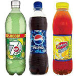 Plastic Bottle Soft Drinks