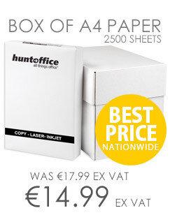 Whitebox A4 White Printer Paper 75gsm Ream Wrapped 5 x 500 Sheets