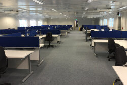 Bristol-Myers Squibb Office Fitout Project completed by HuntOffice Interiors