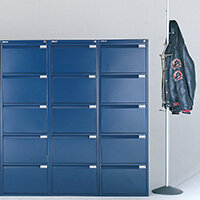 Blue Colour Steel Filing Cabinets