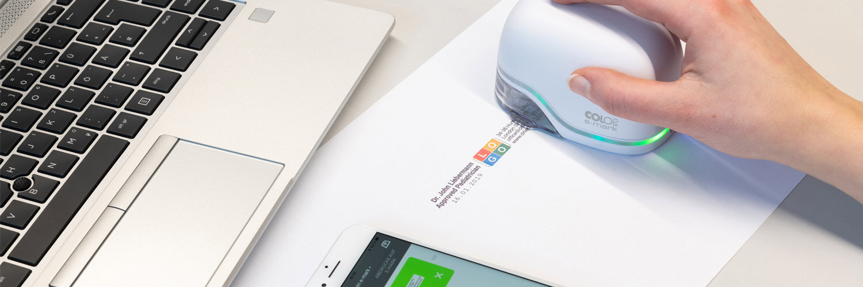 COLOP e-mark Digital Custom Stamp Creator Device