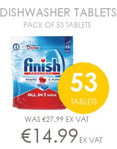 Finish 53 Pack All in one dishwasher tablets