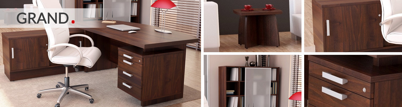 Grand Dark Walnut Executive Furniture Range