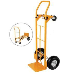 Heavy Duty Hand Trolley and Platform Truck Capacity 250kg RelX HuntOffice.ie