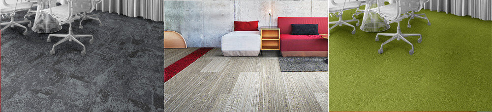 Interface Commercial Flooring Showroom