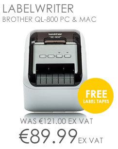 Brother QL-800 Desktop Label Printer PC and MAC