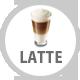 Latte Coffee, Cappucino, Latte