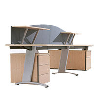 Desk Pedestals, Screens & Cable Management