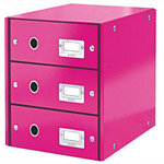 Ceppro Gloss 4 Drawers Module Pink 394Bi