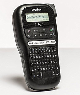 Brother PT-H110 P-Touch Handheld Labelmaker
