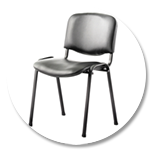 Easy To Clean Vinyl Stacking Chairs