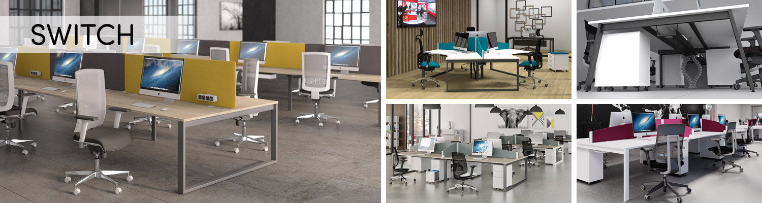 Switch Bench Desking Furniture Range