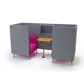 Tryst Meeting Booth