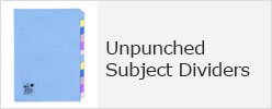Unpunched Subject Dividers