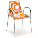 Wave Chair With Arms