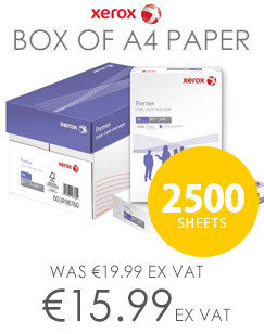 Whitebox A4 White Printer Paper 75gsm Ream Wrapped 5 x 500 Sheets