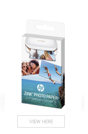 HP ZINK Sticky-Backed Photo Paper for HP SProcket 20 Sheets