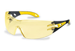 Amber / Yellow Lens Safety Glasses