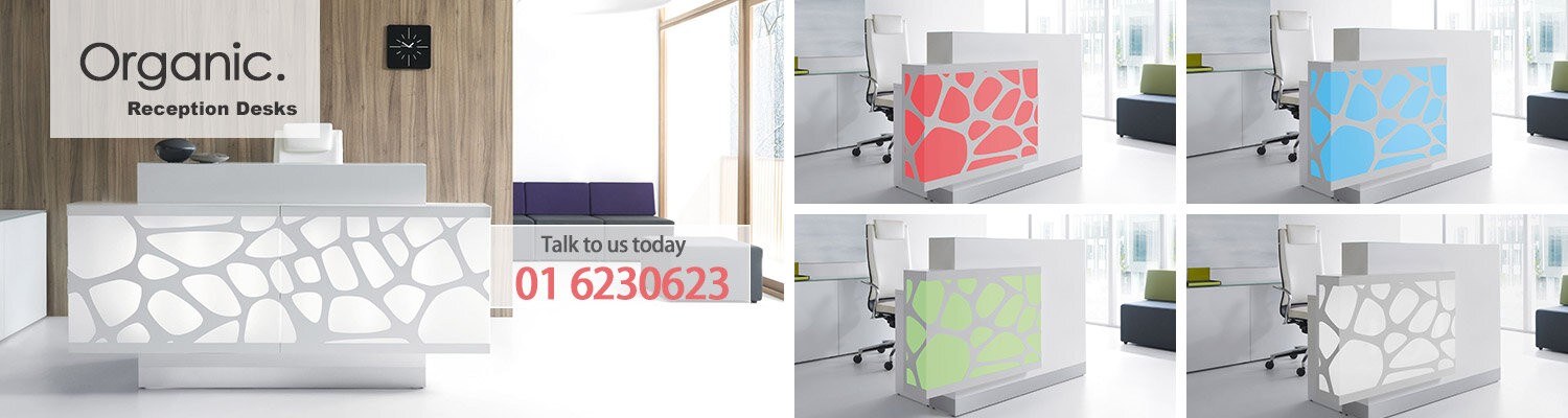 Organic Reception Desk Furniture