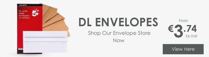 Envelopes Store Banner