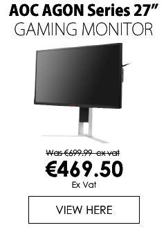 AOC 27 inch Gamin Monitor