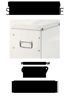 Leitz Click & Store Cube White