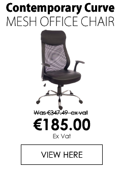 Contemporary Curve Mesh Office Chair