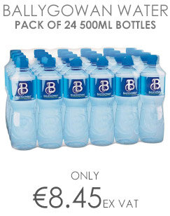 Ballygowan Natural Mineral Still Water, Low in Sodium, Refreshing Taste, 500ml, Pack of 24 Bottles