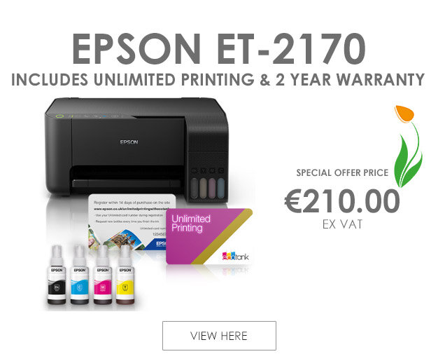 Epson ET-2710 Inkjet All-in-One Printer 3-in-1 Print, Copy & Scan ; Wi-Fi & Unlimited Print Card in One Box