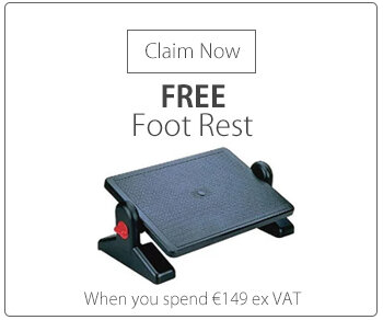 Q-Connect Foot Rest Black KF04525
