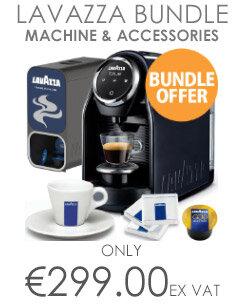 Lavazza LB 900 Blue Classy Compact Coffee Machine Bundle