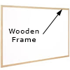 Timber Frame Whiteboard