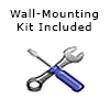 Whiteboard wall mountic kit included