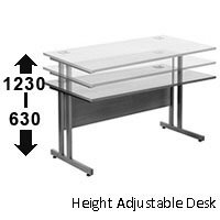 ergonomic electrical desk 630-1230mm