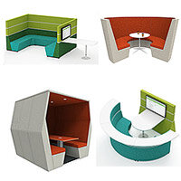 meeting pods configurations