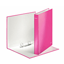 Leitz Wow Pink 2D-Ring Binder A4+ Pack of 10