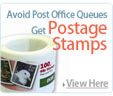 New An Post 68 Cent Postage Stamps x Roll of 100 Stamp Per Box