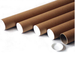 Mailing Tubes Cardboard A2 L450xDia.50mm PT-050-15-0450 Pack 25  by HuntOffice.ie