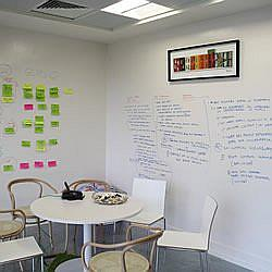 Smart Whiteboard Paint In Businesses