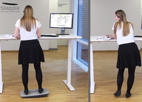 Steppie Balance Board For Stand Up Desks Huntoffice Ie