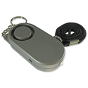 Securikey Personal Alarm Mini Key Ring With Bright Torch